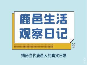 鹿邑生活觀察日記